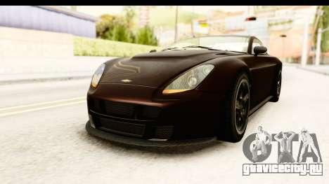 GTA 5 Dewbauchee Rapid GT SA Style для GTA San Andreas вид справа