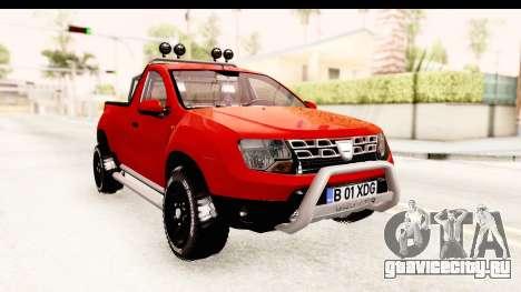 Dacia Duster Pickup для GTA San Andreas вид справа