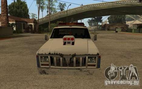 Новый эвакуатор для GTA San Andreas вид слева