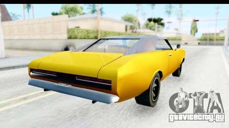 Imponte Dukes 1971 для GTA San Andreas вид сзади слева