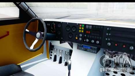 GTA 5 Obey Omnis IVF для GTA San Andreas вид изнутри