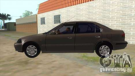 Honda Civic Sedan Stock для GTA San Andreas вид слева