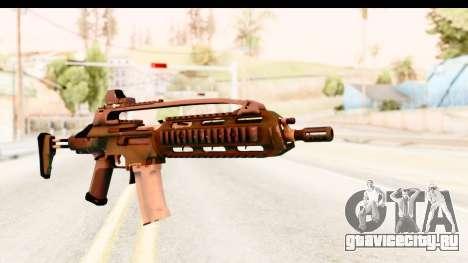 SCAR-LK Green для GTA San Andreas
