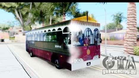 Cas Ligas Terengganu City Bus Updated для GTA San Andreas вид справа