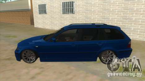 BMW E46 Touring Facelift для GTA San Andreas вид слева