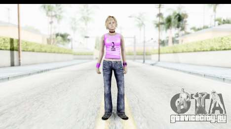 Silent Hill 3 - Heather Sporty Neon Pink для GTA San Andreas второй скриншот