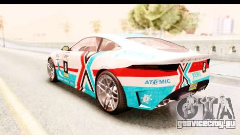 GTA 5 Ocelot Lynx для GTA San Andreas вид сбоку