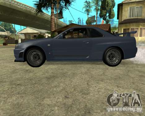 Nissan Skyline Armenia для GTA San Andreas вид справа