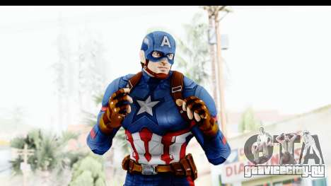 Marvel Heroes - Capitan America CW для GTA San Andreas четвёртый скриншот