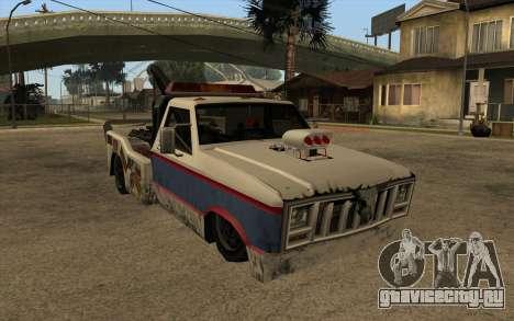Новый эвакуатор для GTA San Andreas