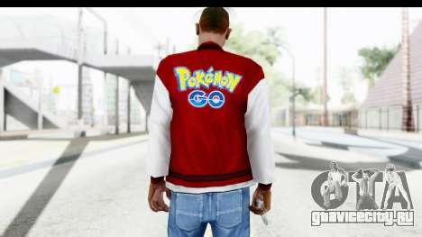 Jacket Pokemon Pokeball для GTA San Andreas второй скриншот