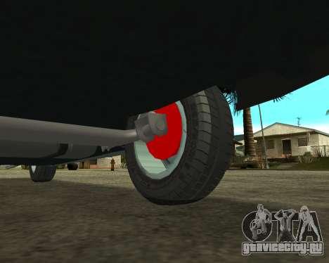 Vaz 21099 ARMNEIAN для GTA San Andreas двигатель