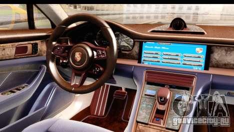 Porsche Panamera 4S 2017 v3 для GTA San Andreas вид справа