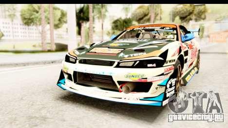 D1GP Nissan Silvia RC926 Toyo Tires для GTA San Andreas вид справа