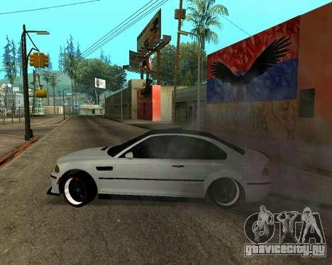 BMW M3 Armenian для GTA San Andreas двигатель