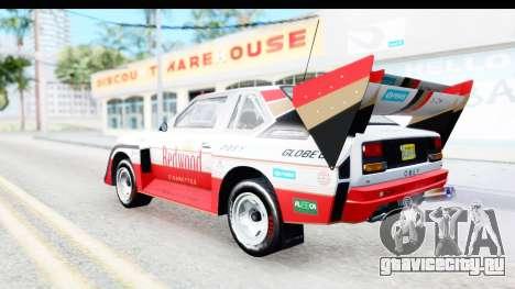 GTA 5 Obey Omnis для GTA San Andreas салон