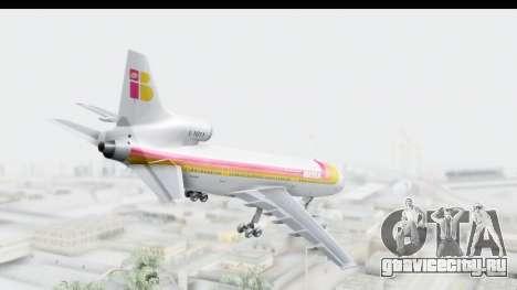 Lockheed L-1011-100 TriStar Iberia для GTA San Andreas вид слева