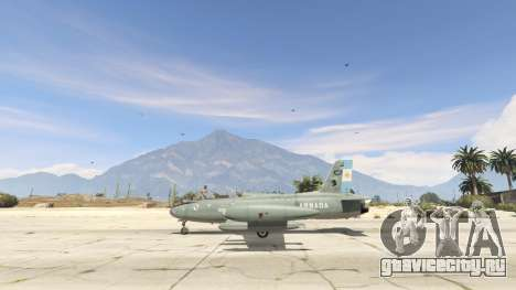AT-26 Impala Xavante ARG для GTA 5 третий скриншот