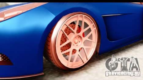 GTA 5 Ocelot Lynx для GTA San Andreas вид сзади