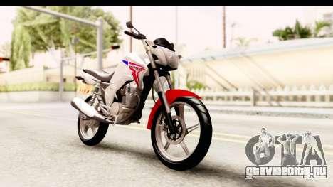 Honda CG150 для GTA San Andreas вид справа