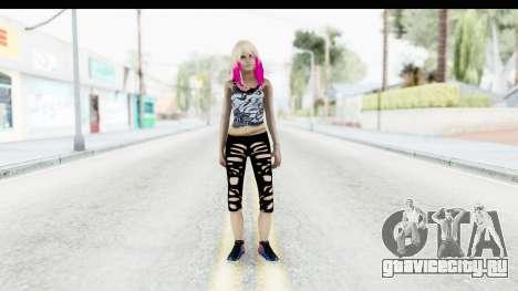 Summer Ombre Hair для GTA San Andreas второй скриншот
