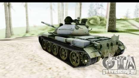 T-62 Wood Camo v2 для GTA San Andreas