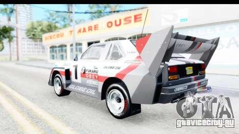 GTA 5 Obey Omnis для GTA San Andreas вид сверху