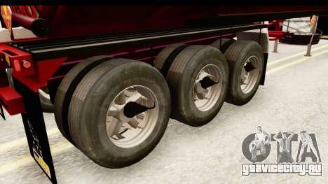 Trailer Colombia v3 для GTA San Andreas вид сзади