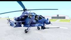 Denel AH-2 Rooivalk Blue