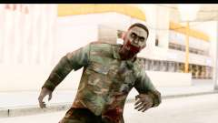 Left 4 Dead 2 - Zombie Military для GTA San Andreas
