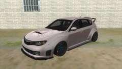 2008 Subaru WRX Widebody L3D для GTA San Andreas