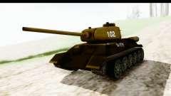 T-34-85 Rudy 102 для GTA San Andreas