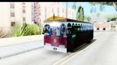 Cas Ligas Terengganu City Bus Updated для GTA San Andreas