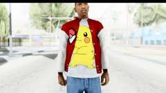 Jacket Pokemon Pokeball для GTA San Andreas