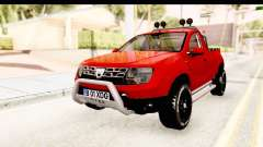 Dacia Duster Pickup для GTA San Andreas
