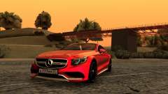 Mercedes-Benz S63 Coupe для GTA San Andreas
