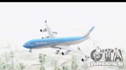 Airbus A340-300 Aerolineas Argentinas для GTA San Andreas