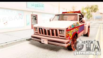 Towtruck Sticker Bomb для GTA San Andreas