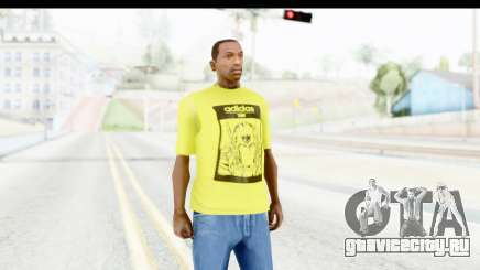 Adidas Thor T-Shirt для GTA San Andreas