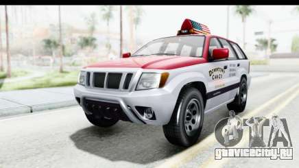 GTA 5 Canis Seminole Downtown Cab Co. Taxi для GTA San Andreas