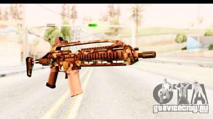 SCAR-LK Hex Camo Green для GTA San Andreas