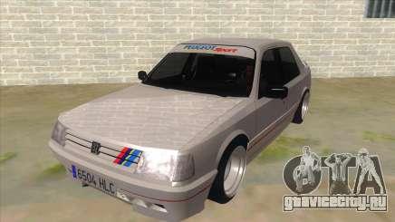 Peugeot 309 Rallye для GTA San Andreas