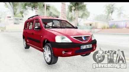 Dacia Logan MCV для GTA San Andreas