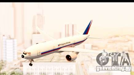 Boeing 777-200LR Philippine Airline Retro Livery для GTA San Andreas