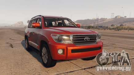 Toyota Land Cruiser 2013 для GTA 5