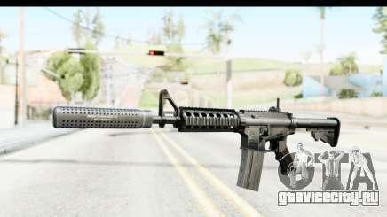 AR-15 Silenced для GTA San Andreas