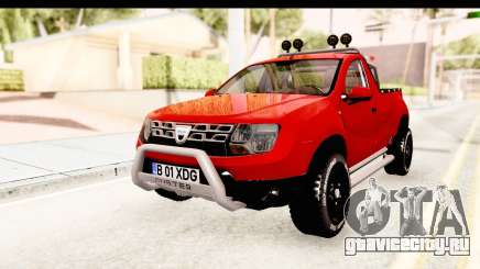 Dacia Duster Pickup для GTA San Andreas