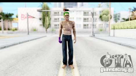 Suicide Squad - Joker v1 для GTA San Andreas второй скриншот