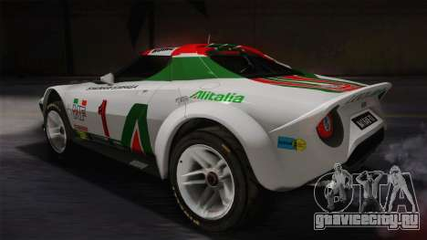 Lancia Stratos для GTA San Andreas вид слева