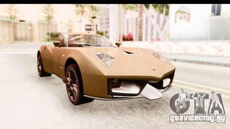 Spada Codatronca TS для GTA San Andreas вид справа
